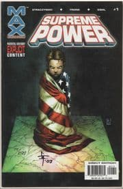Supreme Power #1 Dynamic Forces Signed Gary Frank DF COA Ltd 299 Marvel comic book