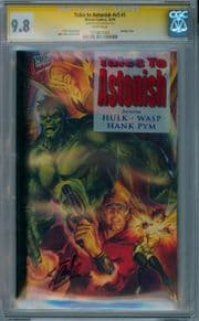 Tales To Astonish #1 CGC 9.8 Signature Series Signed Stan Lee Ant-Man Movie Marvel comic book