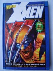 The Best Of X-Men Hardcover Wizard Masterpiece Edition Signed Greg Horn