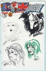 The Cow Spring 2000 Jay Company Quad Sketch Edition A Witchblade Darkness Aphrodite IX Magdalena