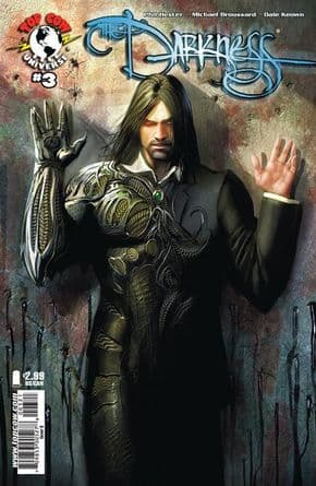 The Darkness #3 Sejic Cover B (2007) Top Cow comic book
