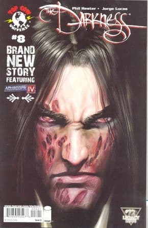 The Darkness #8 #72 Cover B Sejic (2008) Top Cow comic book