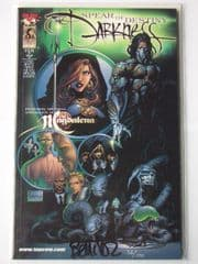 The Darkness Spear of Destiny TPB Signed Benitez COA Ltd 100