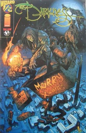 The Darkness Wizard #1/2 Special Xmas Variant COA Top Cow comic book