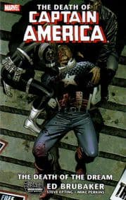 The Death of Captain America Graphic Novel TP Trade Paperback Marvel Comics