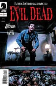 The Evil Dead #1 Movie Adaptation Dark Horse Comics
