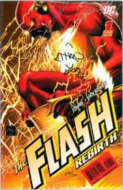 The Flash Rebirth #1 Dynamic Forces Signed Van Sciver DF COA Ltd 300 DC comic book