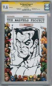The Marvels Project #1 Blank  CGC 9.6 Signature Series Signed Todd Nauck Colossus Sketch comic book