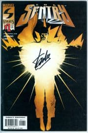 The Sentry #1 (2000) Dynamic Forces Signed Stan Lee DF COA #1 Ltd 20 Marvel comic book