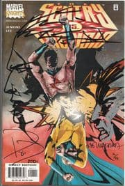 The Sentry Vs. The Void #1 Dynamic Forces Signed Paul Jenkins Jae Lee Remarked Jose Villarrubia DF