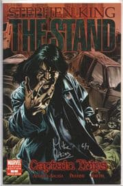 The Stand Captain Trips #1 Variant Dynamic Forces Signed Mike Perkins DF COA Ltd 7 Stephen King