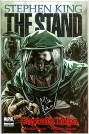 The Stand Captain Trips #2 Dynamic Forces Signed Mike Perkins DF COA Ltd 20 Stephen King Marvel
