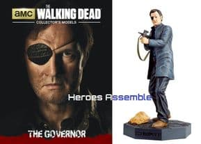 The Walking Dead Collector's Models Collection #04 The Governor Eaglemoss