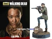 The Walking Dead Collector's Models Collection #10 Sasha Eaglemoss