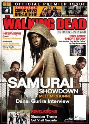 The Walking Dead Official Magazine #1 Michonne Cover Titan Magazines