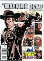 The Walking Dead Official Magazine #1 Midtown Comics Rick Variant Cover Titan Magazines