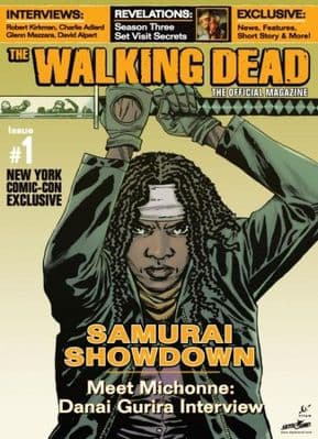 The Walking Dead Official Magazine #1 New York Comic Con NYCC Variant Cover Titan Magazines