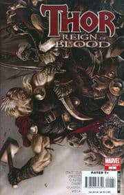 Thor Ages Of Thunder Reign of Blood One Shot (2008) Marvel comic book