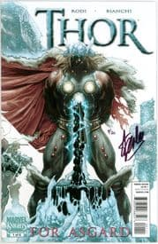 Thor For Asgard #1 Dynamic Forces Signed Stan Lee DF COA Ltd 30 Marvel comic book