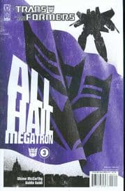 Transformers All Hail Megatron #3 Cover B (2008) IDW Publishing comic book