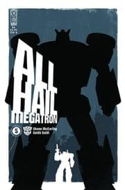 Transformers All Hail Megatron #5 Cover B (2008) IDW Publishing comic book