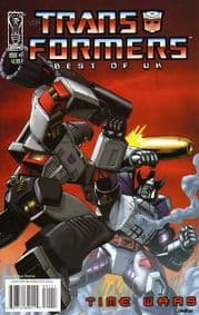 Transformers Best Of The UK Time Wars #1 (2008) IDW Publishing comic book