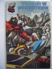Transformers More Than Meets The Eye Guidebook #1 2003