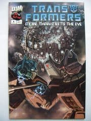 Transformers More Than Meets The Eye Guidebook #8 2003