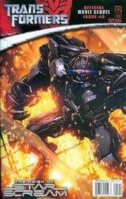 Transformers Movie Sequel Reign of Starscream #5 Cover B (2008) IDW Publishing comic book