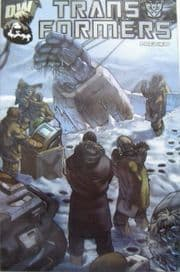 Transformers Preview Winter Variant (2002) Dreamwave comic book