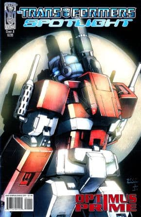 Transformers Spotlight Optimus Prime Cover A (2007) IDW Publishing comic book