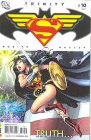 Trinity #10 (2008) Superman Batman Wonder Woman DC comic book