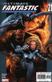 Ultimate Fantastic Four #21 Marvel Zombies