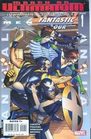 Ultimate Fantastic Four X-Men Annual Comics