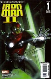 Ultimate Iron Man II #1 (2007) Retail Incentive Variant Marvel comic book