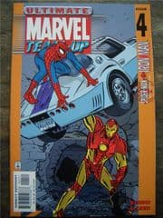 Ultimate Marvel Team-Up #4 Iron Man Spider-man