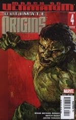 Ultimate Origins #4 Variant Cover (2008) Hulk Marvel comic book