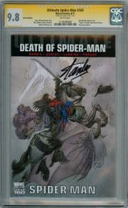 Ultimate Spider-man #160 Retail Variant CGC 9.8 Signature Series Signed Stan Lee Marvel comic book