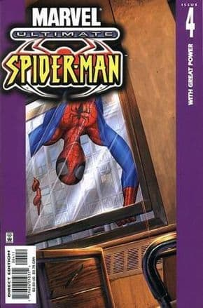Ultimate Spider-man #4 Direct Edition (2001) Marvel comic book