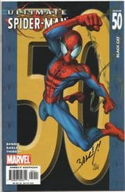 Ultimate Spider-man #50 Dynamic Forces Signed Mark Bagley DF COA Ltd 499 Marvel comic book