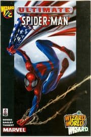 Ultimate Spider-man Wizard #1/2 Wizard World East Variant Half Marvel comic book