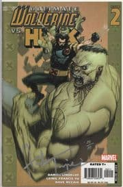 Ultimate Wolverine vs. Hulk #2 Dynamic Forces Signed Herb Trimpe DF COA Ltd 10 Marvel comic
