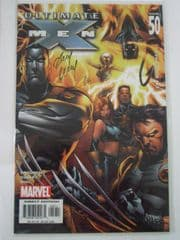 Ultimate X-Men #50 Dynamic Forces Signed Andy Kubert DF COA Ltd 199 Marvel comic book