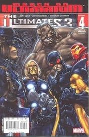 Ultimates 3 #4 2nd Second Print Madureira Variant (2008) Marvel comic book
