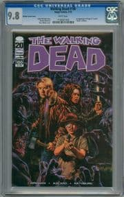 Walking Dead #100 Sean Phillips First Print CGC 9.8 1st App Negan Image comic book
