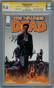 Walking Dead  #61 CGC 9.6  Signature Series Signed  x4 Robert Kirkman Adlard Chew