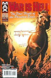 War Is Hell First Flight Of The Phantom Eagle #4 (2008) Marvel comic book