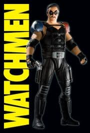 Watchmen Movie Action Figures Classic Comedian Series 2 MIB