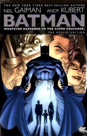 Whatever Happened To The Caped Crusader Graphic Novel Hardcover HC Neil Gaiman DC Comics