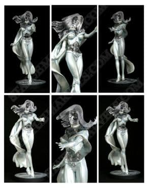 White Queen Emma Frost Modern Clear Previews Variant Statue Bowen Designs Sideshow Collectibles